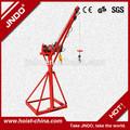 500kg eléctrico de elevación de la grúa eléctrica pequeña grúa