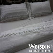wedding wholesale satin fabric white king leather bed sets