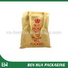 High Quality Cheap Friendly Canvas Tote Bag