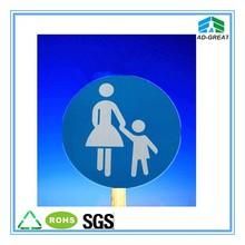 de plástico corrugado pp junta regístrate señalización exterior al aire libre tablero de la muestra signo de la seguridad de la fábrica