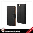 2104 New Flip Leather Case Cover For Iphone6 Card Holder Black Wallet