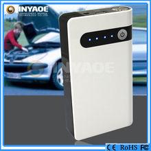 12000mAh car auto jump starter LED power bank booster power supply 12v white
