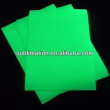 PU glow-in-the-dark heat transfer film for clothing