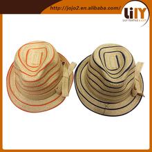 China Wholesale Sun Protection Caps Men Summur Cowboy Hats 5 Colors Straw Folding Cowboy Hat