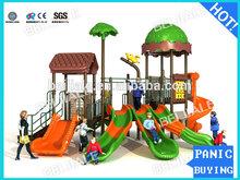 Hot ao ar livre ambiental floresta parque infantil equipamentos para venda FP-032
