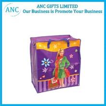 Popular Cute Cartoon customized pp shopping non woven bag