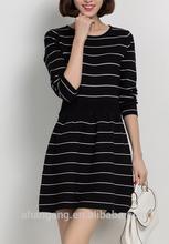 2014 new fashion slim ladies dress