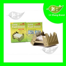 2015 High Quality Smokeless and tasteless 24pcs Hexamine Solid Fuel Tablets