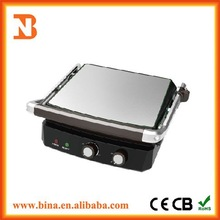 Commercial Flat Plate Sandwich Press Panini Grill For Sale