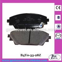 Mazda AXELA Parts Front Brake Pads Ceramic B4Y0-33-28ZB