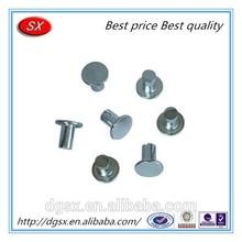 Cina rivetti di fissaggio auto tornio parte, rivetti di fissaggio industriale, rivetto/di contatto in argento