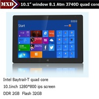 "Hot sale 10"" tablet pc Quad core Intel Baytrail mini pc windows embedded"