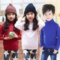 Wholesale2014 outono e inverno de roupa casual nova meninos meninas infantil hedging camisola de gola alta my-0130