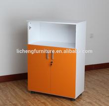 Easy file cabinet office furniture orange color
