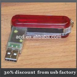 popular bulk 16GB Swissgear metallic revolving usb flash drive