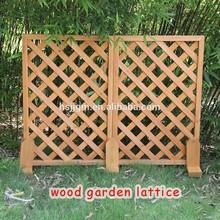 wood garden lattice