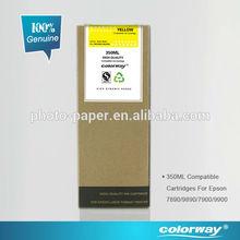 Epson Stylus Pro 7890/9890 Compatible Pigment Ink, 350ml, 100% Compatible Ink Cartridge
