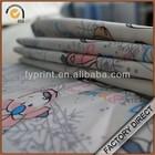 Factory hot sale digital printed children dress cotton poplin