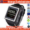 2014 NEW ARRIVAL 1.4 inch touch screen sim card slot 2.0mp good spy camera bluetooth unlocked cheap android mobile phone watch
