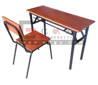 Classroom Student Desk and Chairs, Wooden Bench Wooden School Furniture, Raw Materials for School Furniture