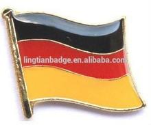 metal logo badge lapel pins Germany flag pin