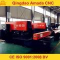 Abierto tipo CNC torreta de prensado máquina de palanca de prensa AMD-255