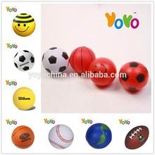 YOYO PU001 Customized Logo Promotion 2014 World Cup Stress Ball