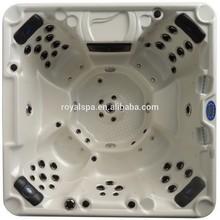 Bathroom equipment enamel steel bathtub massage pool