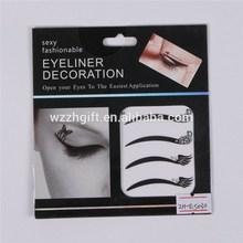 crystal eyeliner decroation, eye shadow sticker