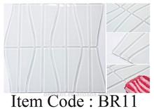 DBDMC bathroom wall tiles Irregular shape white color