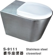 Stainless Steel Closestool (Stainless Steel Toilet, SS Water Seat)