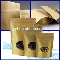 kraft paper bags lined aluminum foil packaging bag