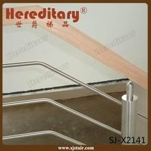 Tige en acier inoxydable balustrade avec main courante en bois( sj- x2141)