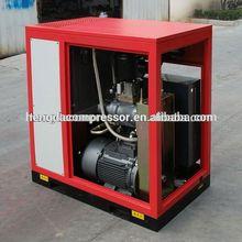 18.5kw 3m3/min industrial tornillo compresor de aire con presión 7-13bar mitsui seiki control de la temperatura de la válvula de tornillo compresor de aire