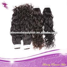 Guangzhou PrincessBeauty brazilian water wave hair extensions