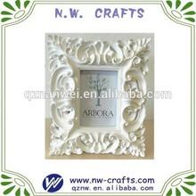 Factory custom resin photo frame wedding decoration