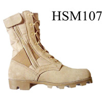 high breathable desert storm military army coyote hikking boots in stock
