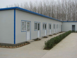 low price high quality PU panel prefabricated house
