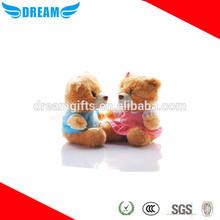 Cute soft mini teddy bear t shirts