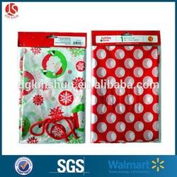 China manufacturer Christmas jumbo bags jumbo plastic gift bags