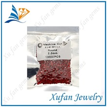 xufan 2mm round crystal glass bead