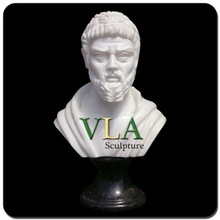 Natural Stone Roman Bust with An Old Man VBS-035V