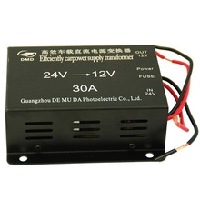 China supplier 30A Power Supply voltage 24v to 12v dc to ac buck converter
