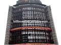 Personalizado de acero estructura de led cartelera/unipoles la estructura de acero de publicidad billboard