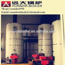 Vertical gas fired half ton steam boiler