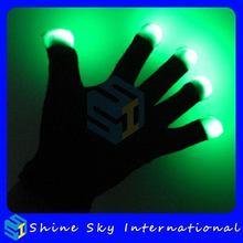 Economic New Coming Led Flashing Luminous Glowing Gloves