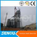 Machine chinoise complète de ligne de produit de ciment, four à chaux vertical,