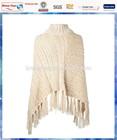 cream cable knitted custom women's sweaters/custom sweater/women winter knitwear