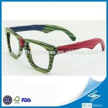 Top Fashion Colorized Bamboo Multi Color Sunglasses Polarized Bamboo
