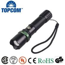 TP-1801C 3 Modes Light Rechargeable 5 Watt CREE LED Flashlight